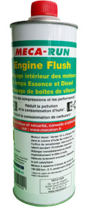 aerosol engine flush