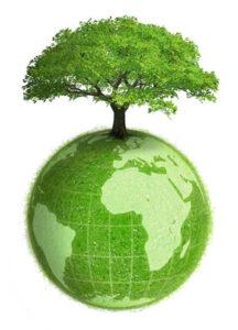 Planète terre végétale